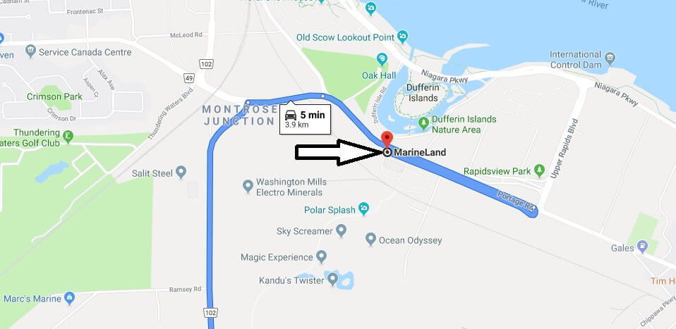 Where is MarineLand Located Prices,Tickets, Hours, Map