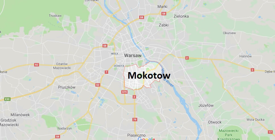 Where is Mokotow Located? What Country is Mokotow in? Mokotow Map