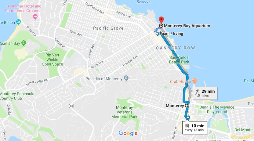 Where is Monterey Bay Aquarium Located Prices, Hours, Map