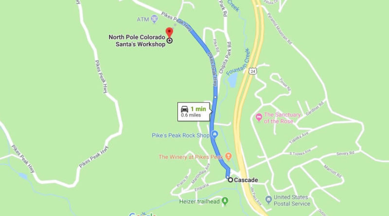 Where is North Pole Colorado Santa's Workshop Located Prices,Tickets, Hours, Map