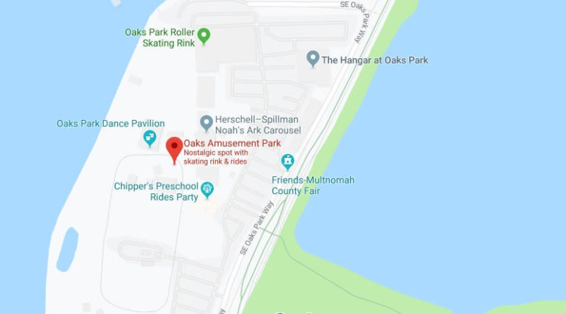 Where is Oaks Amusement Park Located Prices,Tickets, Hours, Map