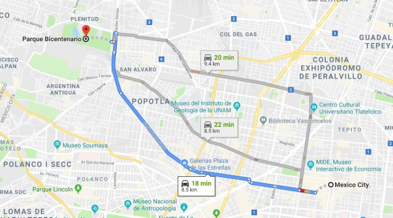 Where is Parque Bicentenario Located Prices,Tickets, Hours, Map