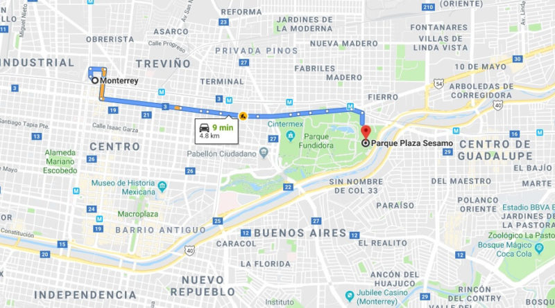 Where is Parque Plaza Sesamo Located Prices,Tickets, Hours, Map