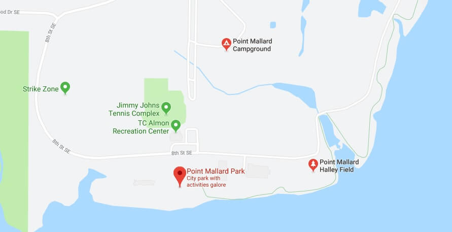 Where is Point Mallard Park Located Prices,Tickets, Hours, Map