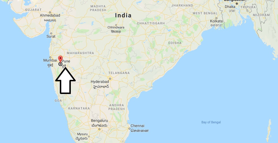 Where is Pune Located? What Country is Pune in? Pune Map