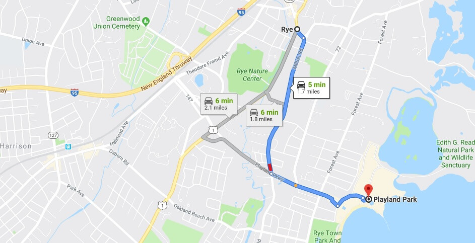 Where is Rye Playland Located Prices,Tickets, Hours, Map