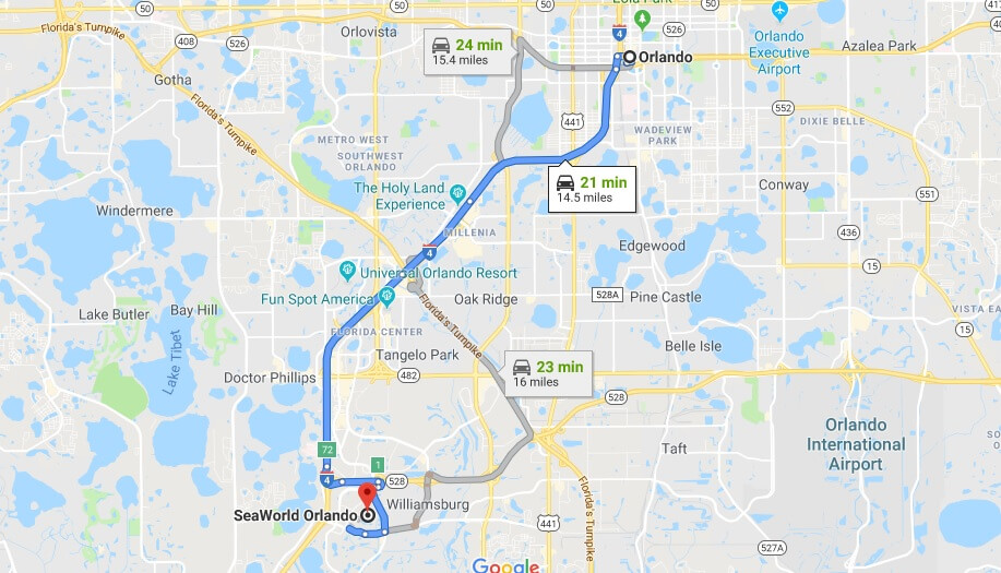 Where is SeaWorld Orlando Located Prices, Hours, Map