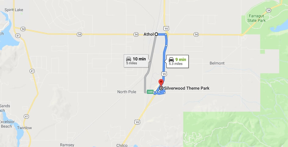 Where is Silverwood Theme Park Located Prices,Tickets, Hours, Map