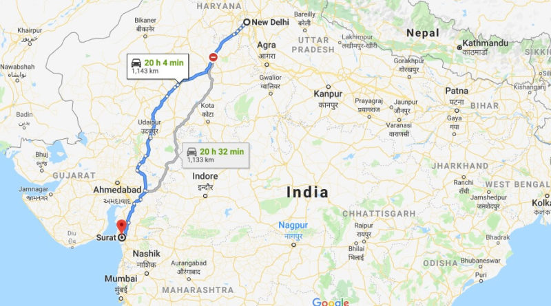 Where is Surat Located? What Country is Surat in? Surat Map