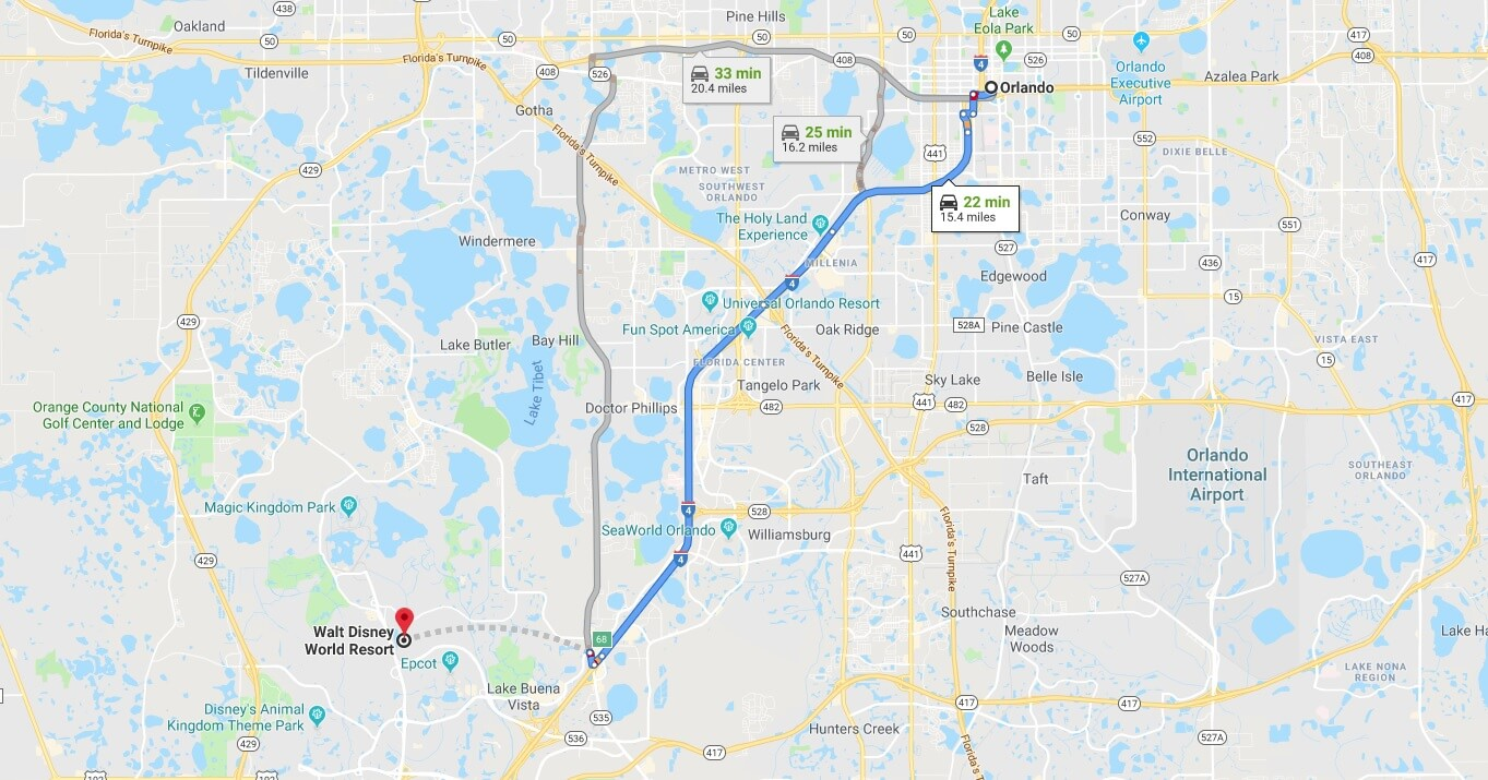 Where is Walt Disney World Resort Located Prices,Tickets, Hours, Map