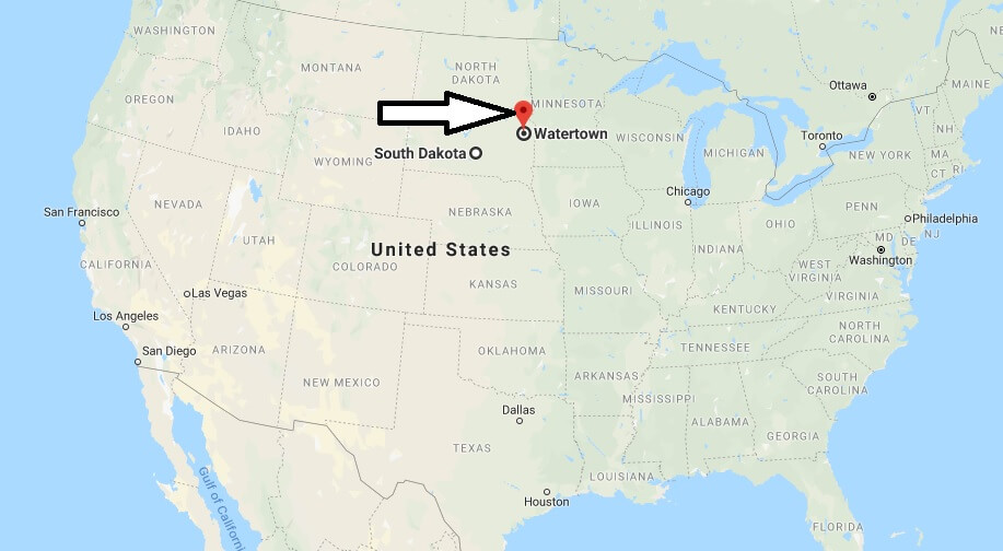 Where is Watertown, South Dakota? What County is Watertown? Watertown Map Located
