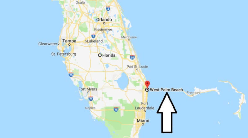 Where is West Palm Beach, Florida? What County is West Palm Beach? West Palm Beach Map Located