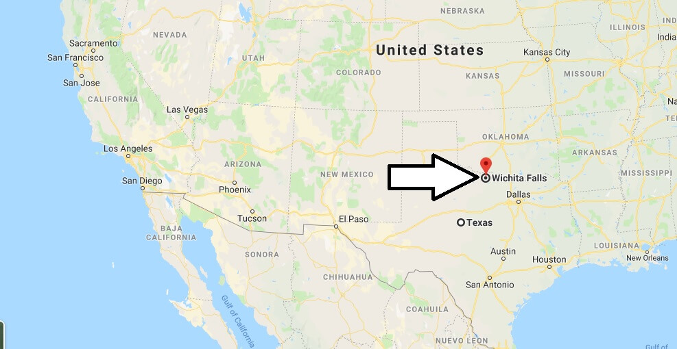 Where is Wichita Falls, Texas? What County is Wichita Falls? Wichita Falls Map Located