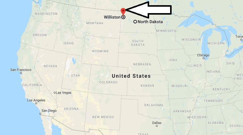 Where is Williston, North Dakota? What County is Williston? Williston Map Located