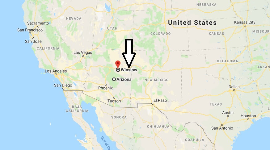 Where is Winslow, Arizona? What County is Winslow? Winslow Map Located