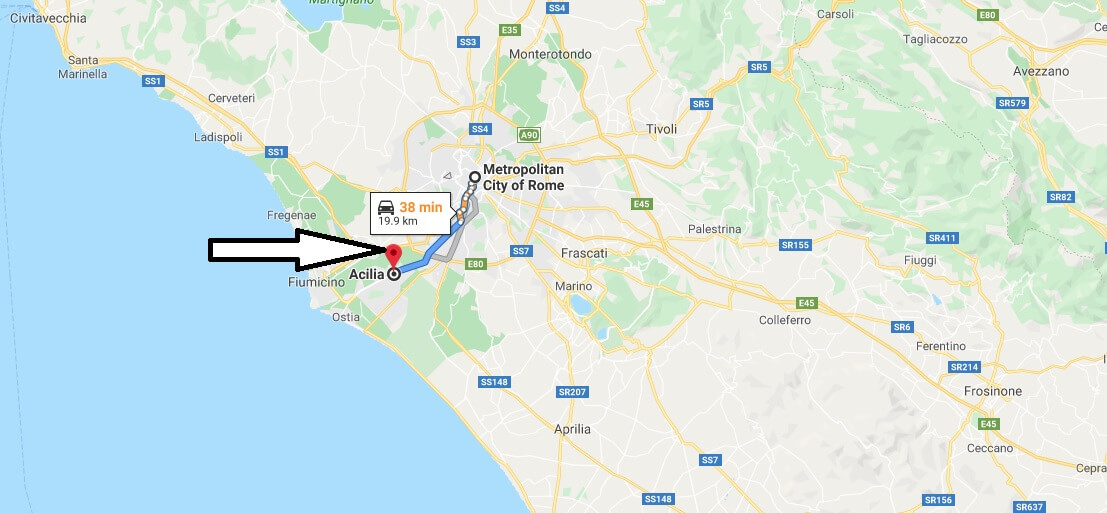 Where is Acilia-Castel Fusano-Ostia Antica Located? What Country is Acilia-Castel Fusano-Ostia Antica in? Acilia-Castel Fusano-Ostia Antica Map