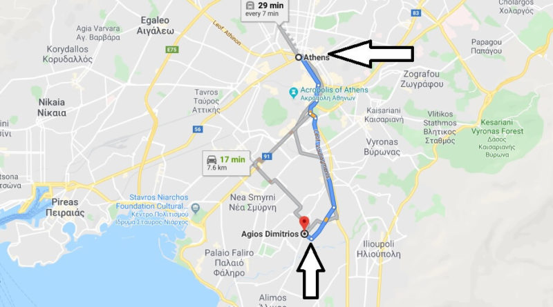 Where is Agios Dimitrios Located? What Country is Agios Dimitrios in? Agios Dimitrios Map