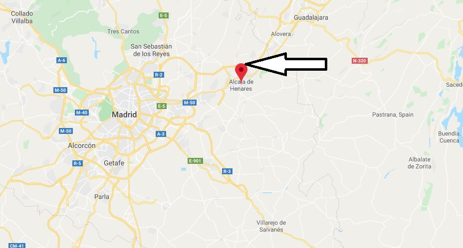 Where is Alcala de Henares Located? What Country is Alcala de Henares in? Alcala de Henares Map