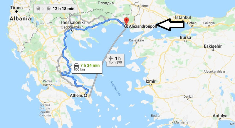 Where is Alexandroupoli Located? What Country is Alexandroupoli? Alexandroupoli Map