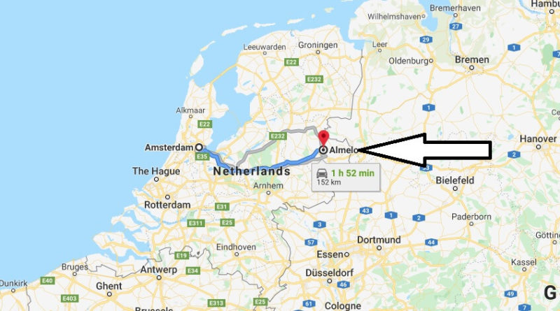 Where is Almelo Located? What Country is Almelo in? Almelo Map