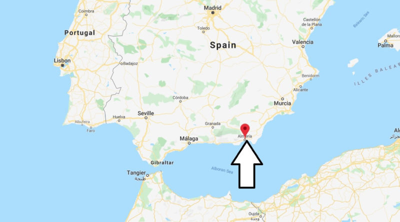 Where is Almeria Located? What Country is Almeria in? Almeria Map
