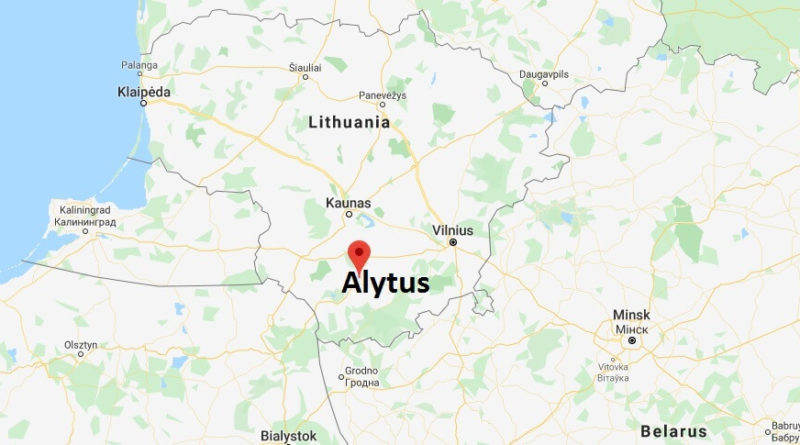 Where is Alytus Located? What Country is Alytus in? Alytus Map