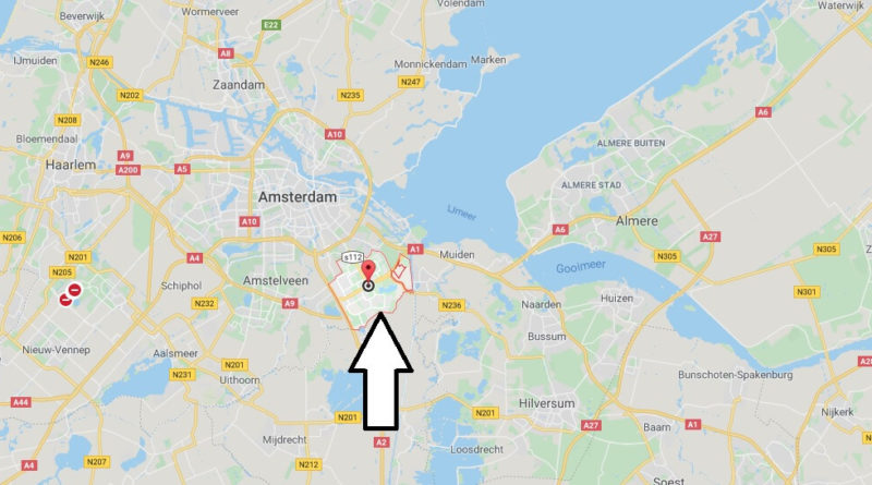 Where is Amsterdam-Zuidoost Located? What Country is Amsterdam-Zuidoost in? Amsterdam-Zuidoost Map