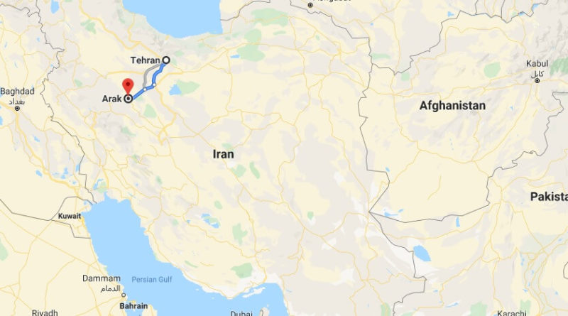 Where is Arak Located? What Country is Arak in? Arak Map
