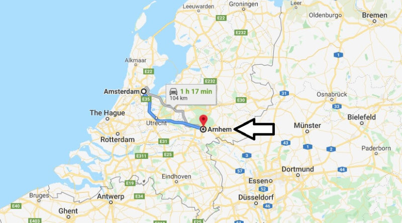Where is Arnhem Located? What Country is Arnhem in? Arnhem Map