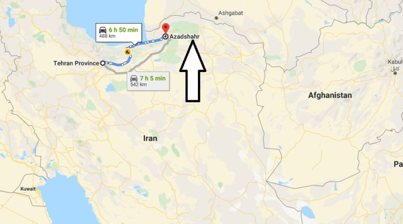 Where is Azadshahr Located? What Country is Azadshahr in? Azadshahr Map