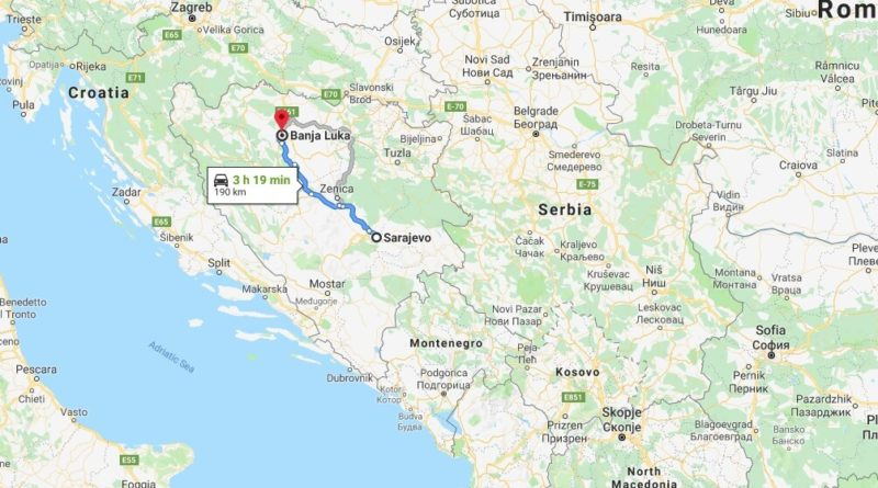 Where is Banja Luka Located? What Country is Banja Luka in? Banja Luka Map
