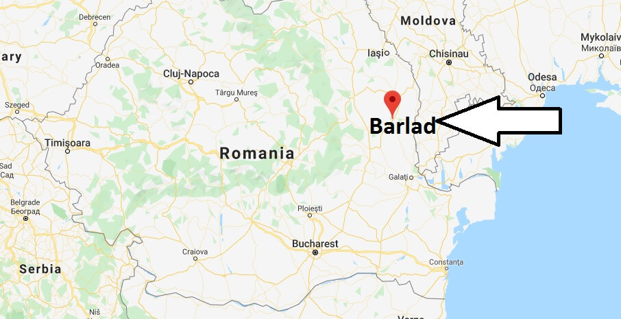 Where is Barlad Located? What Country is Barlad in? Barlad Map