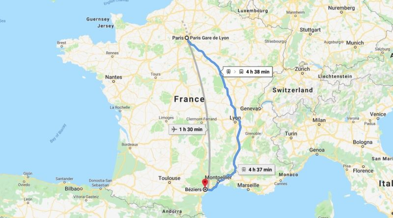 Where is Beziers Located? What Country is Beziers in? Beziers Map