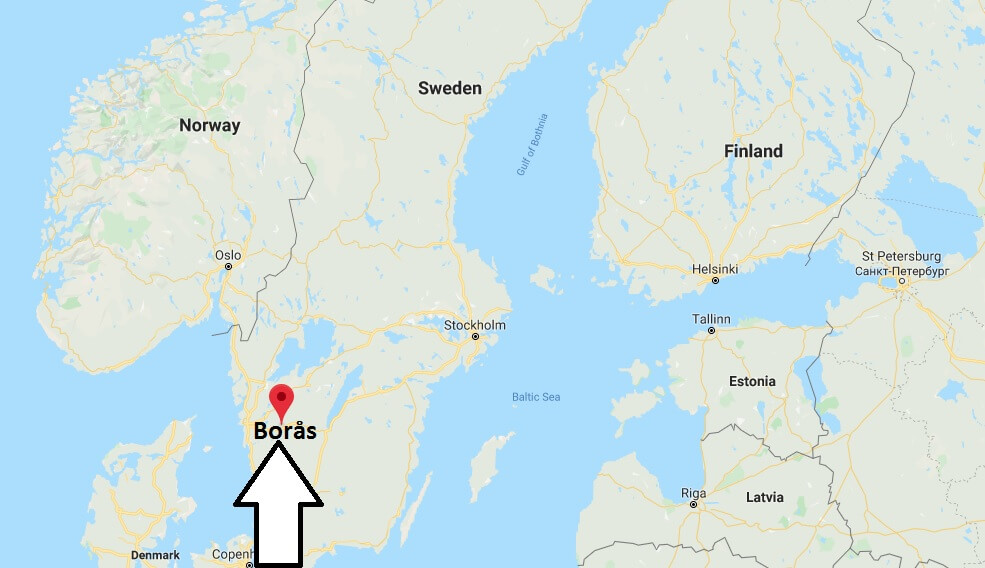 Where is Borås Located? What Country is Borås in? Borås Map