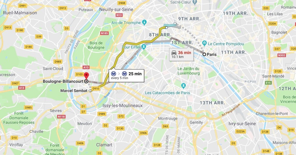 Where is Boulogne-Billancourt Located? What Country is Boulogne-Billancourt in? Boulogne-Billancourt Map