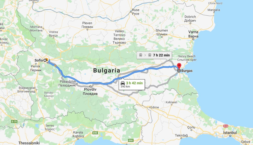 Where is Burgas Located? What Country is Burgas in? Burgas Map