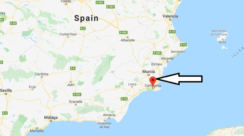 Where is Cartagena (Spain) Located? What Country is Cartagena in? Cartagena Map