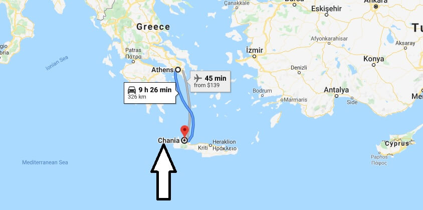 Where is Chania Located? What Country is Chania? Chania Map
