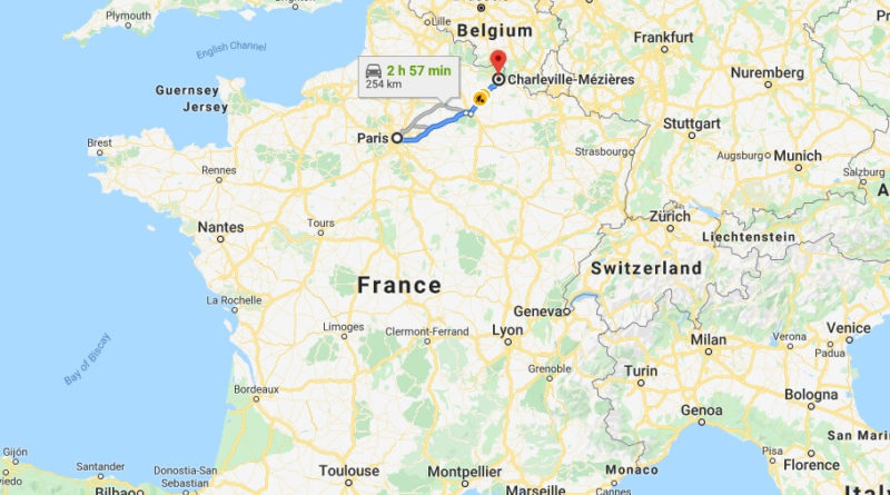 Where is Charleville-Mezieres Located? What Country is Charleville-Mezieres in? Charleville-Mezieres Map