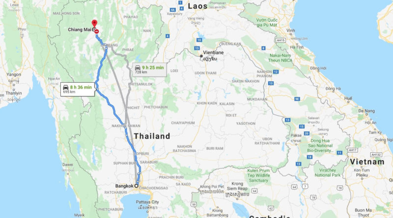 Where is Chiang Mai Located? What Country is Chiang Mai in? Chiang Mai Map