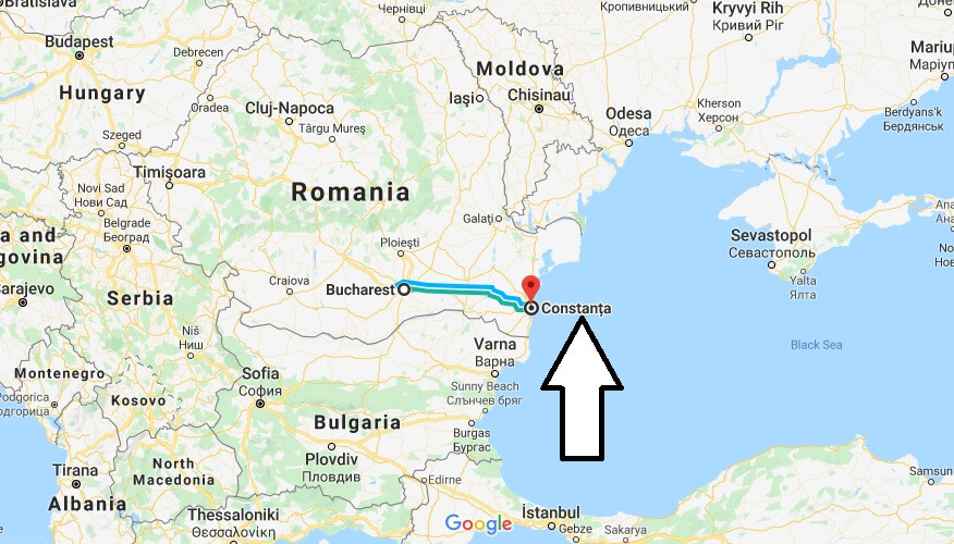 Where is Constanta Located? What Country is Constanta in? Constanta Map