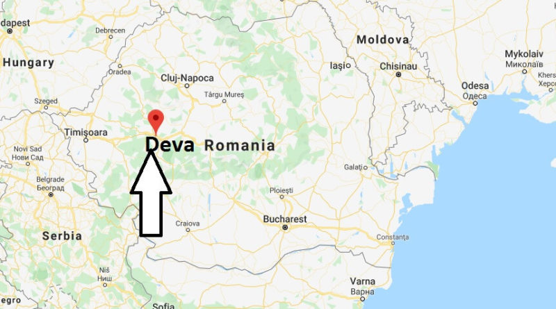 Where is Deva Located? What Country is Deva in? Deva Map