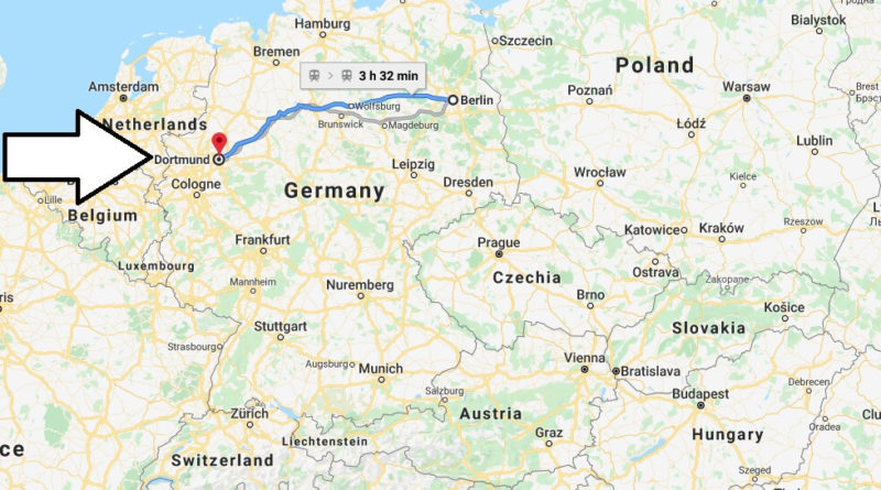 Where is Dortmund Located? What Country is Dortmund in? Dortmund Map
