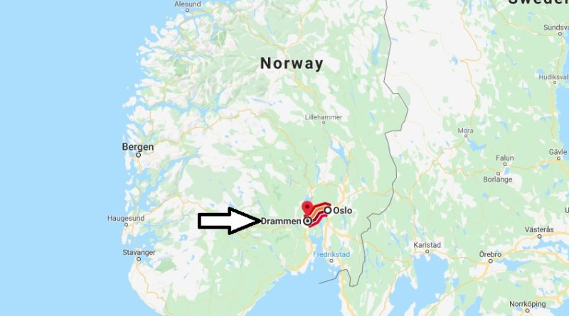 Where is Drammen Located? What Country is Drammen in? Drammen Map