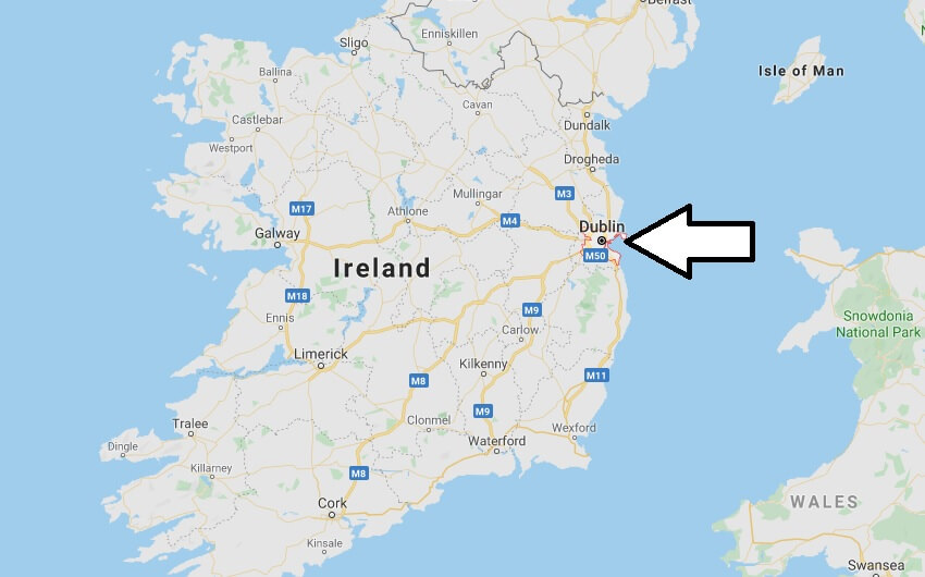 Where is Dublin Located? What Country is Dublin in? Dublin Map