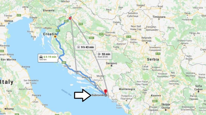 Where is Dubrovnik Located? What Country is Dubrovnik in? Dubrovnik Map