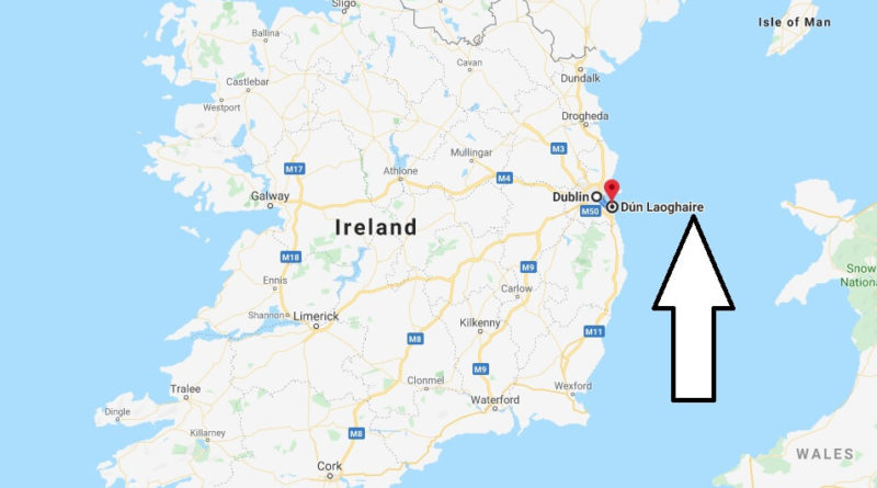 Where is Dun Laoghaire Located? What Country is Dun Laoghaire in? Dun Laoghaire Map