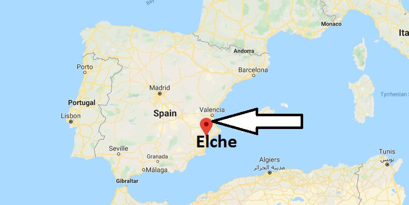 Where is Elche Located? What Country is Elche in? Elche Map