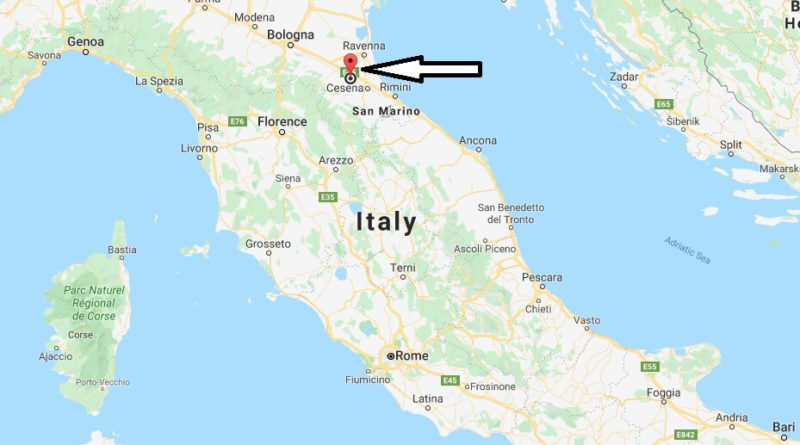 Where is Forli Located? What Country is Forli in? Forli Map