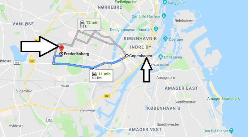Where is Frederiksberg Located? What Country is Frederiksberg in? Frederiksberg Map